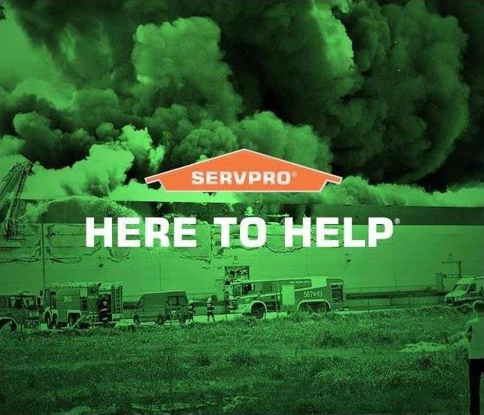 SERVPRO here to help.